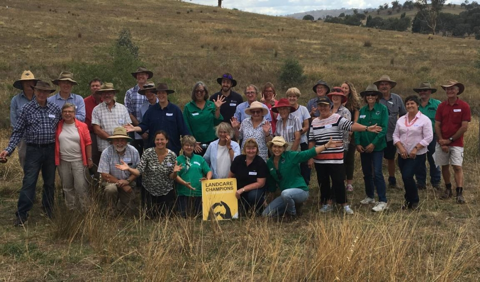 Showcasing Boorowa and Hovells Creek Landcare champions